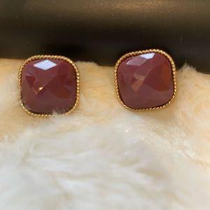 🆕 ($3/$25 )NEW Burgandy Earrings